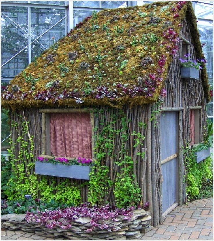 9 Cottage Style Garden Ideas: Best 25+ Cottage Garden Sheds Ideas On Pinterest