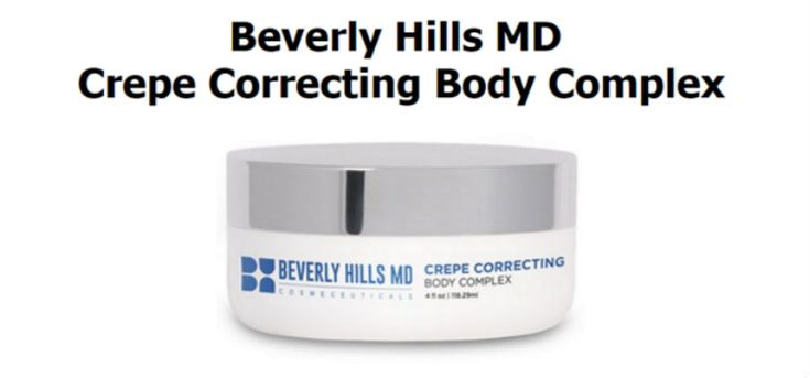 beverly hills md crepe correcting body complex Crepe erase skin care maintains that it is a revolutionary body treatment system that assures you positive results so that you can get that younger looking skin you have always wanted. One of the effects of aging that is instantly visible; is on your skin. It starts looking crepey and dry, which can take a toll on your self-confidence. - See more at: http://www.easybodyfit.com/crepe-erase-skin-care-reviews-crepey-skin-complaints/