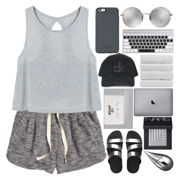 """""""mexico"""" by h0ld-0n-let-g0 ❤ liked on Polyvore featuring H&M, OtterBox, Topshop, Linda Farrow, FitFlop, NARS Cosmetics, La Prairie and MiaBenedicte"""