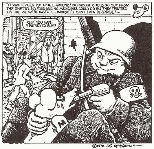 Art Spiegelman - Maus 1972 -
