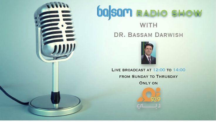 Listen to the Balsam Radio Show with Dr. Bassam Darwish on Noor Dubai #pinoftheday #Dhcc #dubaihealthcarecity #noordubai #balsamradioshow #mydubai #Uae #medicaltourism #medicalconsultation #medical #health #healthy #healthylife #healthcare #prevention #balsam_tv #healthpromotion #healthtips #balsam_fhp #eatinghealthy #healthyliving #balsamforhealthpromotion #balsam_for_health_promotion #طب#صحة#بلسم