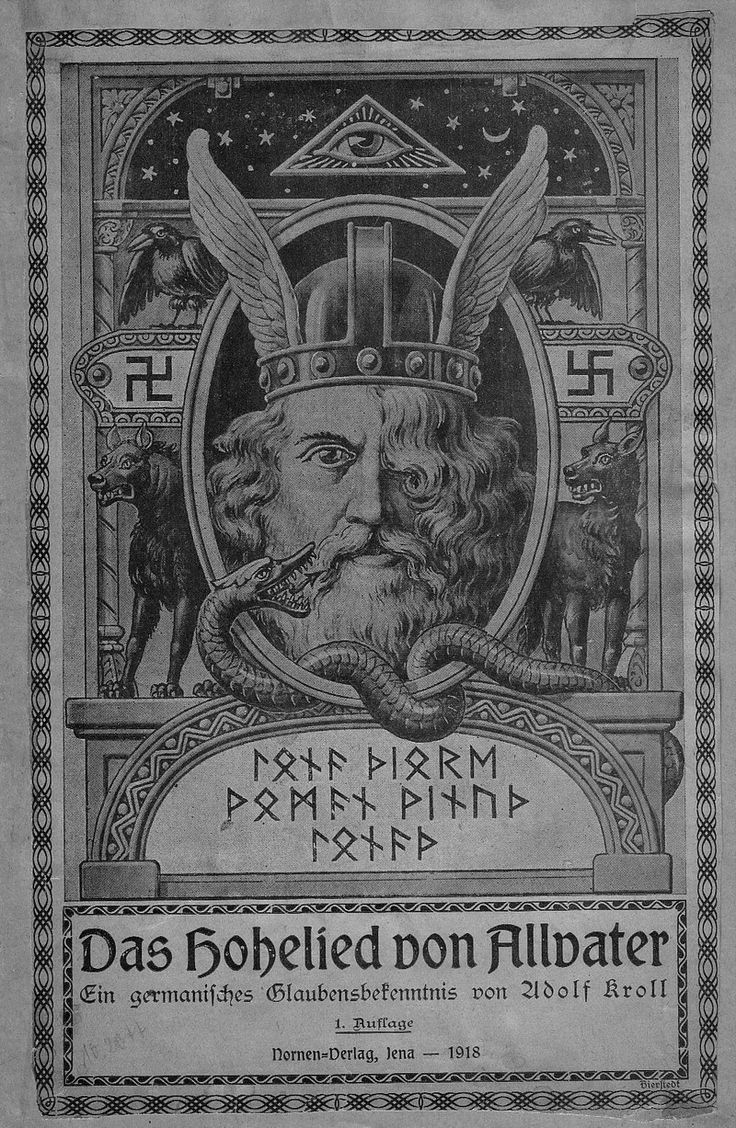 """Odin. When Nazis came to power in 1933, they outlawed almost all other groups. Fahrenkrog's GGG Folk group could nolonger use the swastika, which they used since 1908. The swastika dates to Ancient India. It remains widely used in Indian religions, specifically in Hinduism, Buddhism, and Jainism as a tantric symbol of auspiciousness. The word """"swastika"""" comes from the Sanskrit svastika - """"su"""" meaning """"good,"""" """"asti"""" meaning """"to be,"""" and """"ka"""" as a suffix. The swastika literally means """"to be…"""