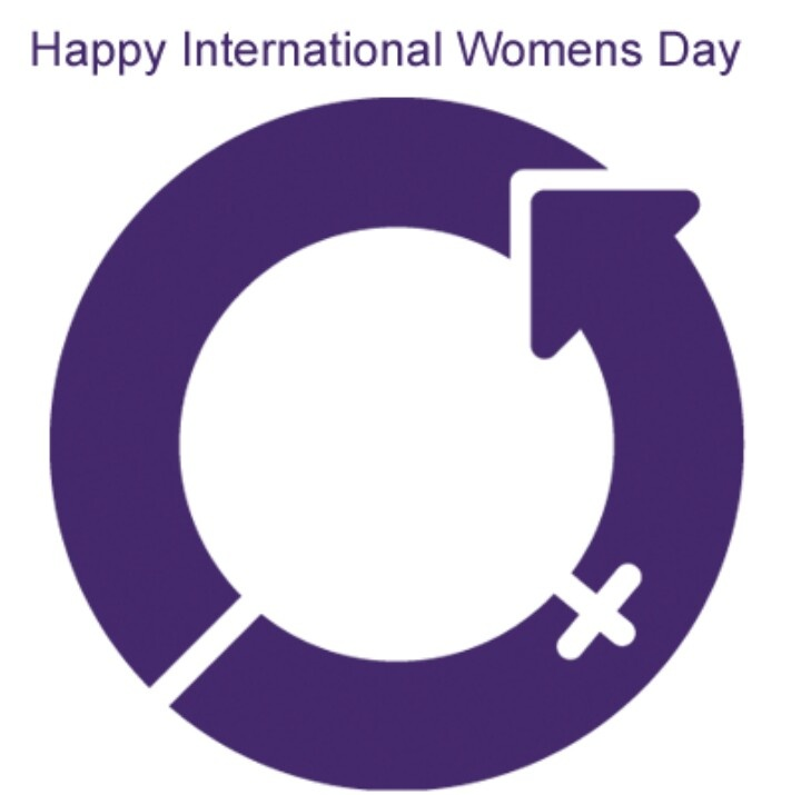 international women's day flag