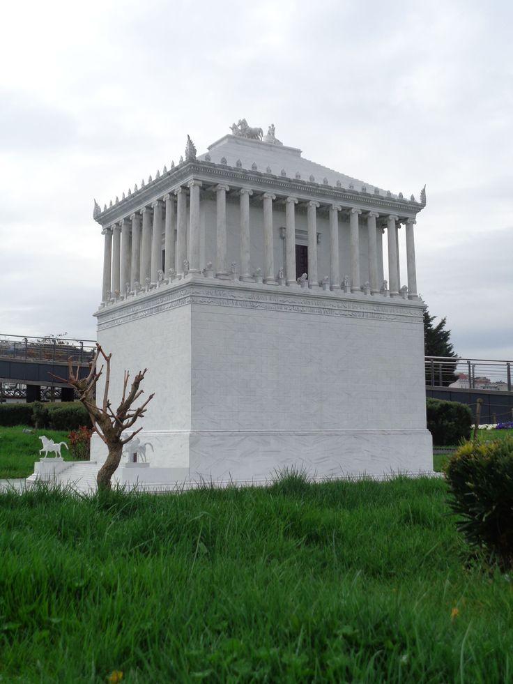 Mausoleum von Halikarnassos, als Modell in Byzantion, dem heutigen Istanbul, 2016