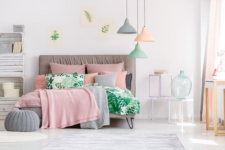 Idée Décoration Maison En Photos 2018 - couleurs pastel decoration ...