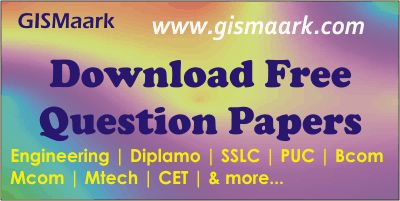 Download Previous Year Question Papers - Engineering(VTU), PUC  http://gismaark.com/EduQuestionPapersView.aspx #gismaark #vtu #engineering