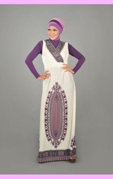Purple overslach ~ Busana Muslimah Indonesia