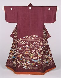Woman's Kimono (Kosode) Made in Japan, Asia Late 19th century