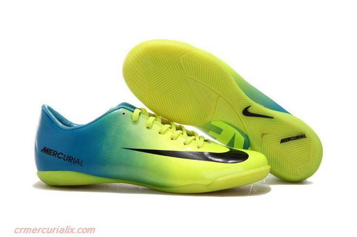 2013 Nike Mercurial Vapor IX Indoor Glide III IC Indoor Soccer Cleats Black…