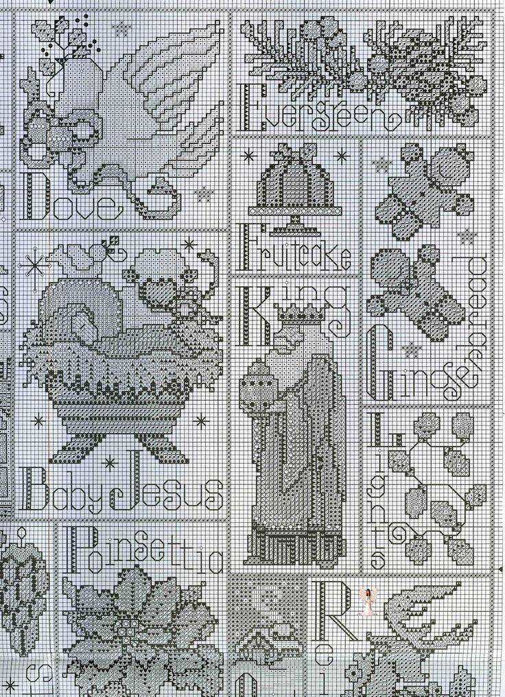 208 best Cross stitch images on Pinterest Embroidery, Flower and DIY - abc chart