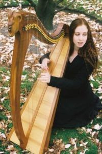 Harpiste bretonne
