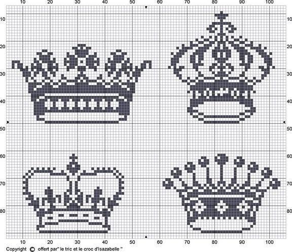 Coroas para bordar