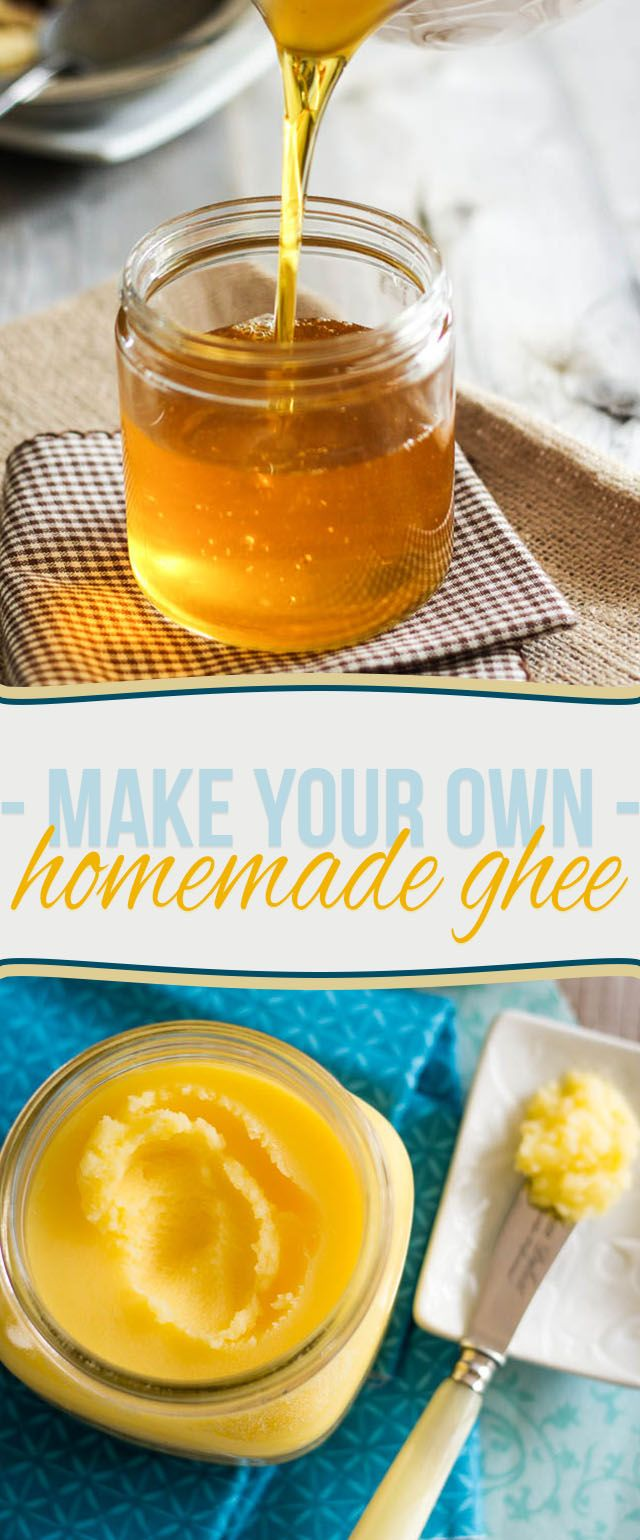 Learn how to make your own ghee at home - it's much easier than you think!