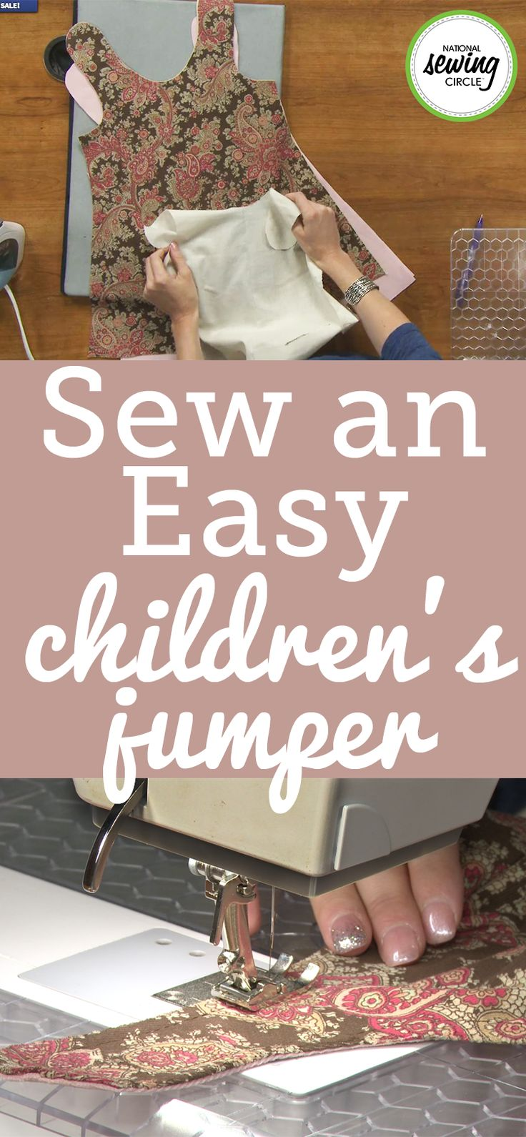 For some, the start of fall season means back to school shopping for cute clothes. For others, including Holly Willis, it's the time to start sewing back to school clothes. Learn how to make a jumper for a little girl sized 4/5 from an easy to follow, downloadable pattern Holly created.