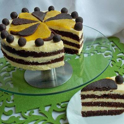 Tort czekoladowo- pomarańczowy - DoradcaSmaku.pl