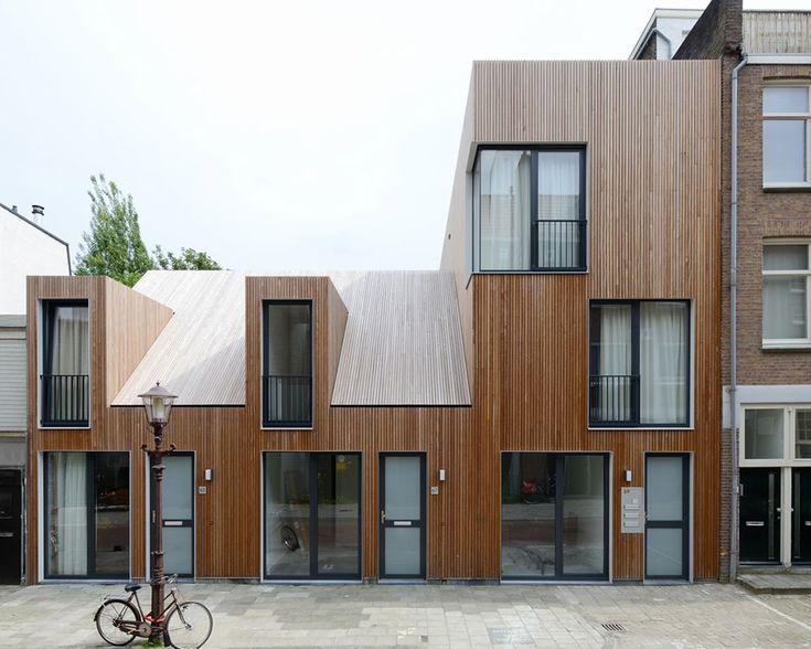 Wohnhaus in Amsterdam von M3H architecten, Ansicht