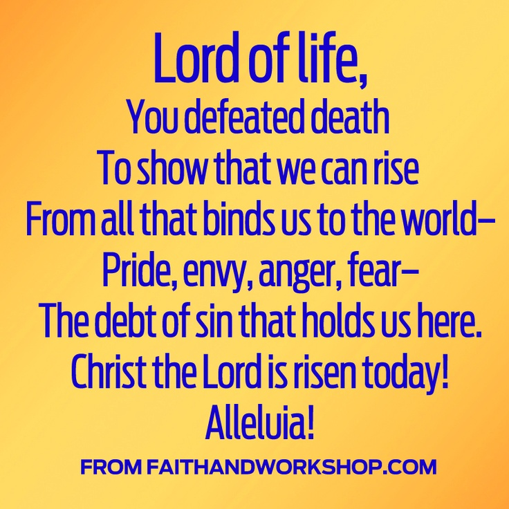 An Easter prayer from Guideposts