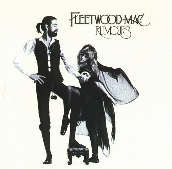 """The front cover features a stylised shot of Fleetwood and Nicks dressed in  her """"Rhiannon"""" stage persona: the photo was taken by Herbert Worthington."""