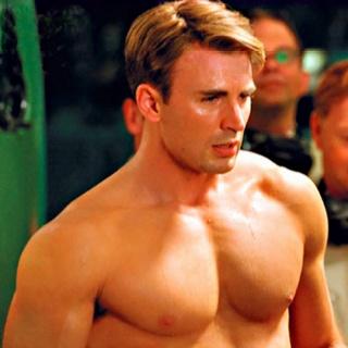 クリス・エヴァンスの筋肉