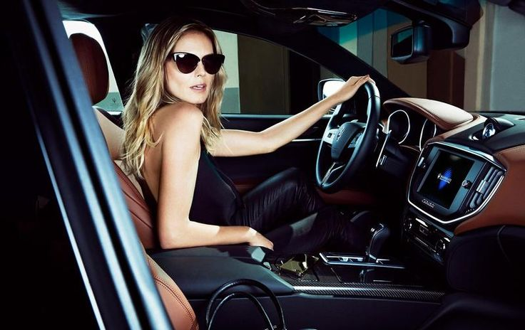 Heidi Klum - Various Campaigns - Maserati 2014