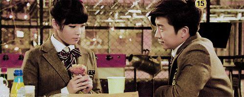 Jason and Kim Pil Suk (Wooyoung and IU)
