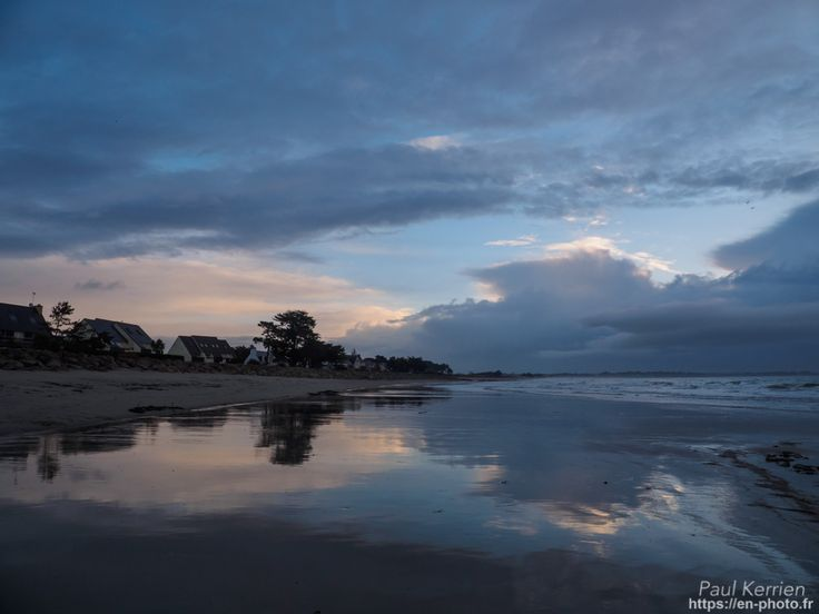 début de marée descendante  - à  Île-Tudy  © Paul Kerrien 2018 https://en-photo.frFinistère Bretagne