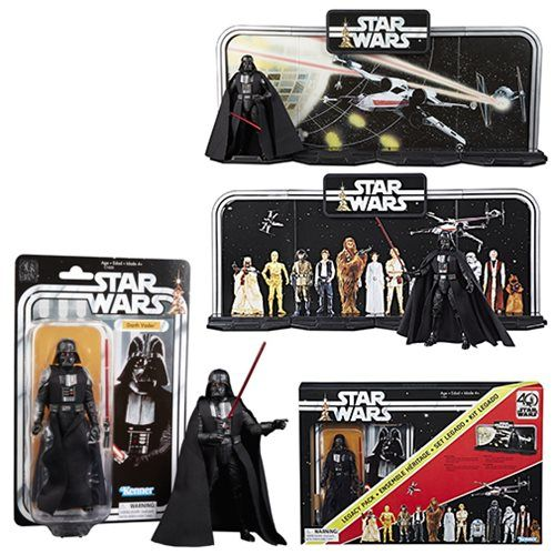 (affiliate link) Star Wars The Black Series 40th Anniversary Display Diorama with Darth Vader 6-Inch Action Figure