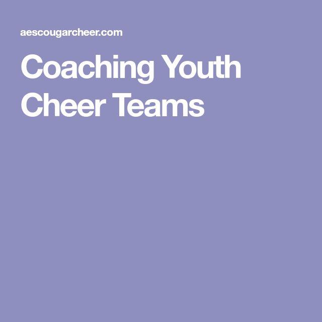 Coaching Youth Cheer Teams