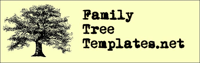 Family Tree Templates -  More than 100 family tree templates you can download and print for free. http://www.familytreetemplates.net/