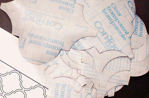 contact paper design cutouts