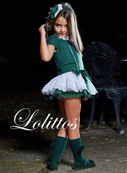 The Little Girl In Pin Up Style Stock Image - Image of