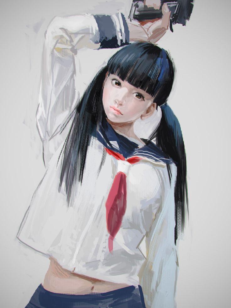 alma-paste:  Model: yuraIllustration: TOKIYA SAKBA https://twitter.com/TOKIYA  Me like!