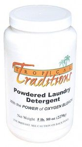 I LOVE the Tropical Traditions laundry detergent!