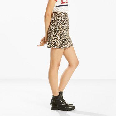 Levi's Cheetah Skirt - Women's M