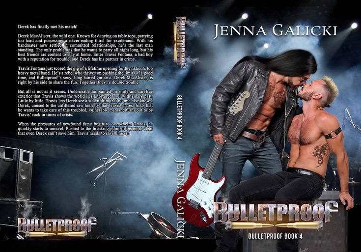 MM Rock Star Book Cover Design by Chloe Belle Arts for Jenna Galicki