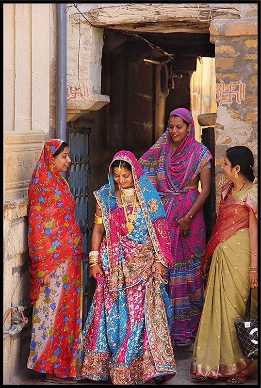 Stepping into new life. - Jaisalmer, Rajasthan