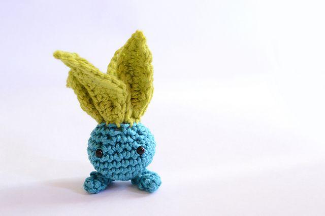 Crocheting Pokemon : Ravelry: Crochet Baby Oddish Pokemon Pattern pattern by Sandy Chan