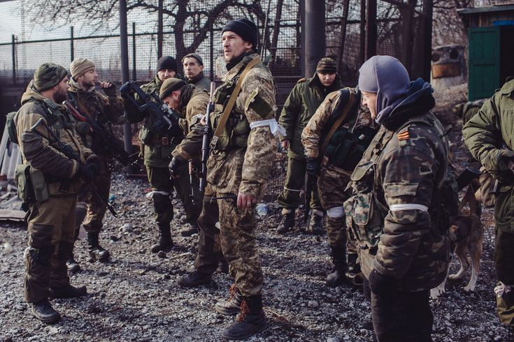 War Is Hell: Pictures From The Front Lines Of Ukraine