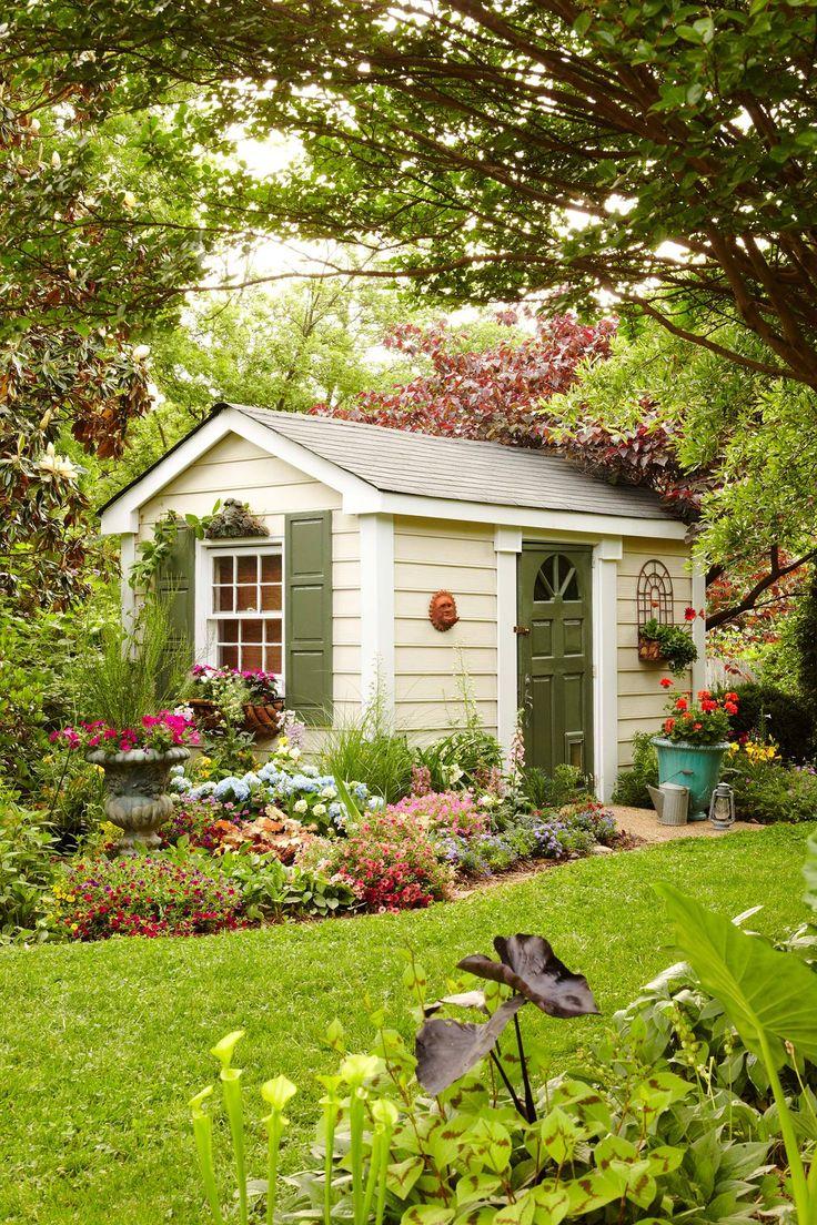 Маленький садовый домик картинки
