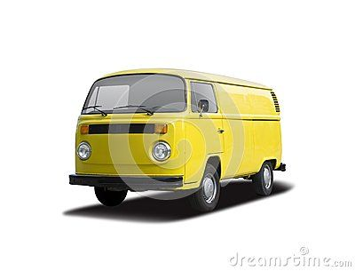 VW T2 yellow