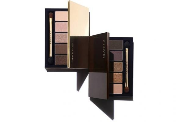 NEW Le Clarins Autumn 2015 Palettes in BRown/Nude/Gold/Plum/Rose