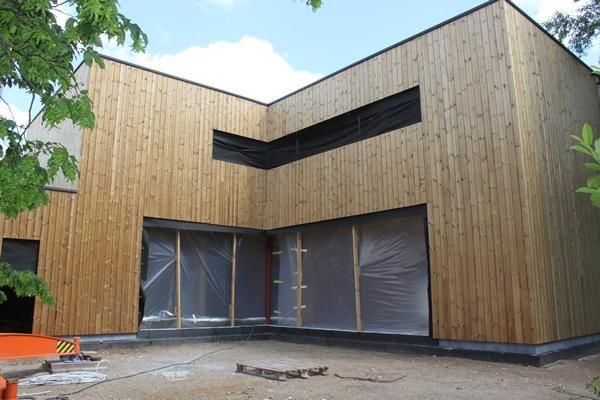 Architect Jessi Decsi - Moderne lage-energiewoning in houtskelet PR1261