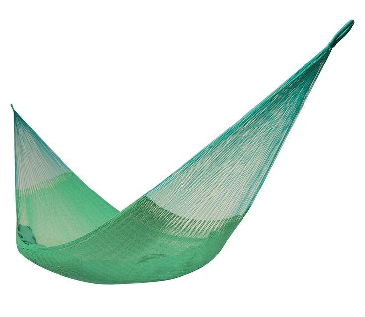 Mexická hojdacia sieť Single Juliana, 150 kg, svetlo-zelená - Mexické siete
