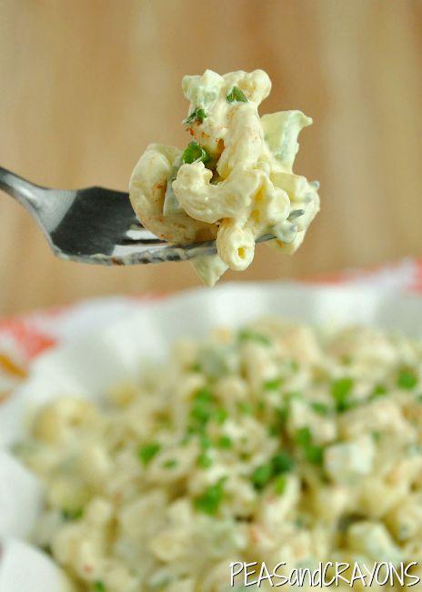 wicked easy macaroni salad