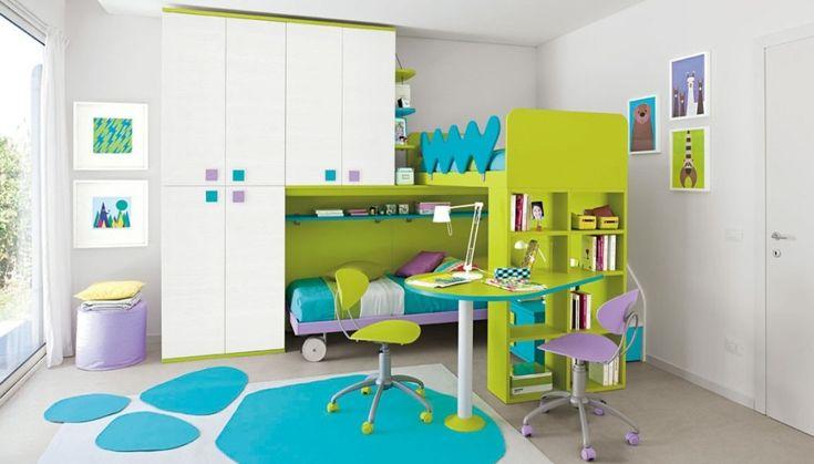 Dětské a studentské pokoje | Dětský pokoj Colombini GOLF C042 | Kvalitní Dětský a Studentský Nábytek Smolíček