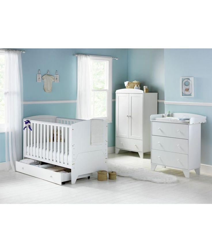 Buy BabyStart New Oxford 5 Piece Furniture Set   White At Argos.co.uk