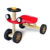 A classic red buggy for toddlers who are ready to take to the open road (or hallway).