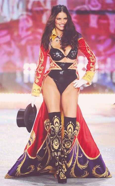 Adriana Lima for the Circus section in the 2012 Victoria's Secret fashion show. Ring leader