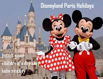 Disneyland is the decisive place to take your family for fun, dream and an exciting time they will never forget. It is the ideal destination for having holidays in Europe. We will help you in finding the most appropriate holiday package in least possible time and affordable rates. So if you are looking for your next family vacation then book your tickets no for Disneyland Paris. http://www.disneylandparisholidays.org.uk/