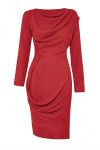 Vivienne Westwood Anglomania Womens Wax Red New Fond Dress